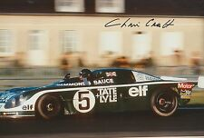 Chris Craft Hand Signed 12x8 Photo Le Mans 1.