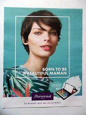 PUBLICITE-ADVERTISING :  MARIONNAUD Petite Palette  2016 Maquillage