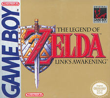 Poster – Legend of Zelda Links Awakening (Game Gaming Picture GBA Nintendo Art)