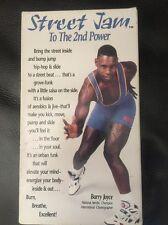 Street Jam To The 2nd Power VHS Aerobic Hip Hop Dance VHS 1992 Barry Joyce