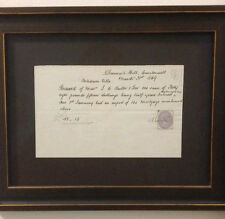 John Ruskin Signed Letter 1869 With Seal ALS