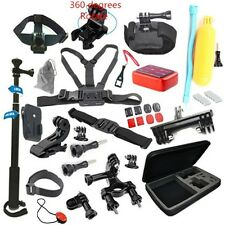 Gopro Accessories Set Go pro Kit Mount For Gopro Hero 4 3 2  SJCAM SJ5000 Camera
