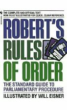 Robert's Rules of Order : The Standard Guide to Parliamentary Procedure by...