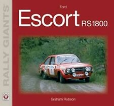 FORD ESCORT RS 1800 RALLY GIANT CAR BOOK jm