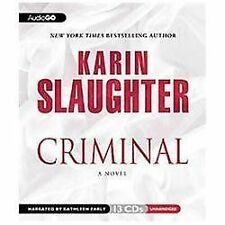 Criminal by Karin Slaughter (2012, CD)