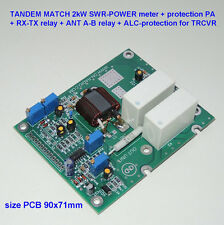TANDEM MATCH 2kW SWR POWER meter protection RX-TX ANT A-B LDMOS MOSFET BLF188XR