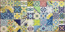 Lotto 50 Mattonella Piastrella 10x10 ceramica Vietri TILE maiolica COMP 37