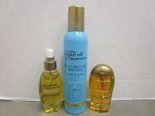 3 ORGANIX PRODUCTS MOUSSE, HEALING DRY OIL & VITAMIN E PENETRATING OIL  MM 3509