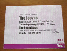 CRISPIAN MILLS THE JEEVAS - SOUNDHAUS NORTHAMPTON UK 9.5.2000 CONCERT TICKET