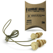 3M COMBAT ARMS GENERATION 4 Tactical SHOOTERS Military Ear Plugs - FREE UK P&P
