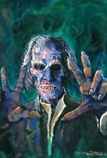 GRIMSDYKE   Peter Cushing - LTD Edition Signed and numbered prints by Fangoria a