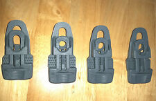 4 x Grey Holdon Clips Tarpaulin Eyelet Repair Boat Trailer cover. Top Quality