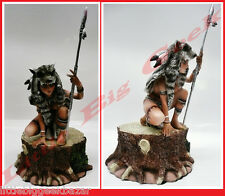 GUERRIERE Enfant Louve Statue Remi Bostal Pin Up Sexy War Girls Resine BD # NEUF