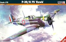 Curtiss H-75 A3 hawk (français, finnois, polish & luftwaffe MKGS) 1/72 MISTERCRAFT