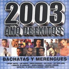 Various Artists 2003 Ano De Exitos Bachata Y Merengues CD