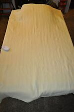 """60""""  X 80""""  pale yellow  single control Twin  AUTOMATIC ELECTRIC BLANKET"""