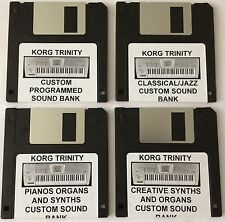 Korg Trinity Synthesizer Complete 4 Disk Special Offer