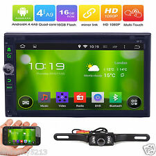 """Android4.4 7"""" In Dash 2DIN Car CD DVD Stereo UNIT Player Bluetooth WIFI GPS NAVI"""