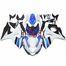 For Suzuki GSXR1000 K9 GSX-R1000 2009-2014 Fairings Cowling Kit White Blue Black