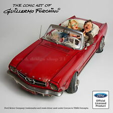 GUILLERMO FORCHINO - XXL `65 FORD MUSTANG CONVERTIBLE - limited Edition FO85078