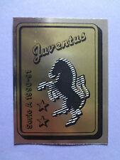 FIGURINE PANINI CALCIATORI N.153 SCUDETTO JUVENTUS 1990-91 90-91 NEW - FIO