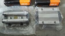 Lot of 2 THK LM SYSTEM HSR 25 NEW