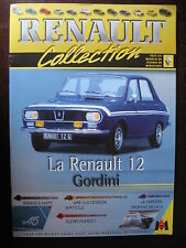 FASCICULE 39  RENAULT COLLECTION  R 12 GORDINI