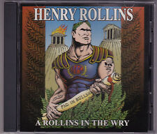 Henry Rollins - A Rollins In The Wry - CD (333652 Quarterstick U.S.A.)