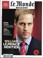 LE MONDE MAGAZINE N°423 23 AVRIL 2011 PRINCE WILLIAM/ INTERSEXUES/ GARDE DE CUBA