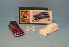 SMC-603 1947 Buick Woody Wagon  HO-1/87th Scale White Resin Kit (unfinished)