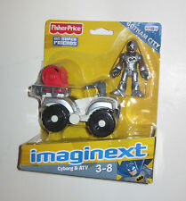 Imaginext DC Super Friends Mini Cyborg with ATV Vehicle  BRAND NEW