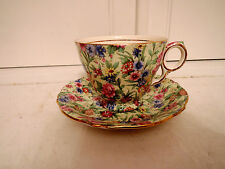 Vintage Royal Winton Chintz Kew Cup & Saucer 1950's