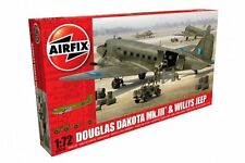 AIRFIX A09008 1/72 Douglas Dakota MkIII with Willys Jeep