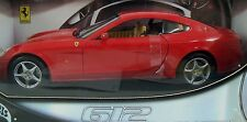 Hot Wheels Red Ferrari 612 Scaglietti 1:18 Car