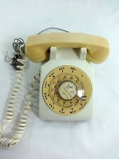 VTG 1960'S BELL SYSTEM TWO TONE RARE STYLE ROTARY DIAL PHONE
