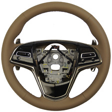 2015 Cadillac ATS Steering Wheel Cashmere Leather New 23207585 23488533