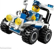 Lego CITY police CAR 30228 minifigures