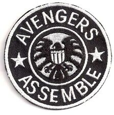 "AVENGERS Assemble/Agents of SHIELD TV 3"" Logo Patch- FREE S&H (ASPA-020)"