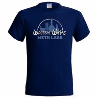 Breaking Walter Bad White Inspired Meth Labs Mens T Shirt Heisenberg Small - 5XL
