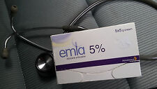 Genuine Emla 5% local numb anesthetic cream forTattoo,piercing,waxing two patch