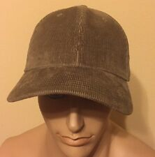 Polo Ralph Lauren Corduroy Hat Polo  One Size Scout Taupe / Brown Adjustable