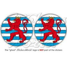 LUXEMBOURG NATO Boeing Sentry AWACS OTAN Cocarde 75mm Autocollants x2 Stickers