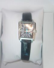 Yonger and Bresson Ligne Sport Chic Rectangle Crystal Watch DCC 1517/01 new