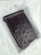 NIB VOKEY WEDGE OSTRICH LEATHER CASH COVER