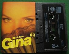 Gina G Ti Amo Cassette Tape Single - TESTED