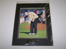Jack Nicklaus 11x14 Matted Golf Photo w/Name Plate