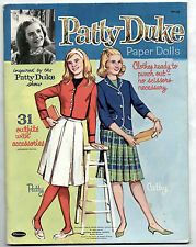 Vintage Whitman PATTY DUKE TV SHOW paper dolls 1964 cut/IDENTICAL COUSINS/Mod!