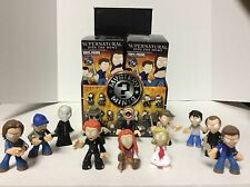 Funko Supernatural Mystery Minis Set of 12 Sam,Dean,Castiel,Bobby,Crowley,etc.