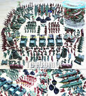 307 pcs Military Plastic Toy Soldier Army Men 4cm Figures & Accessories Playset