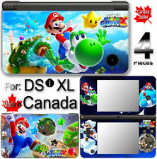 Super Mario Galaxy 2 SKIN COVER STICKER for DSi XL LL